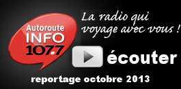 reportage radio autoroute info