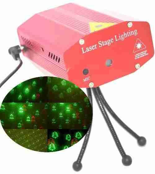 Projecteur mini laser images clairage de no l 2016 sur - Projecteur noel facade gifi ...