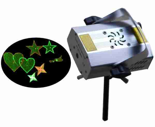 Mini laser toiles coeurs d coration no l 2016 sur fa ade for Projecteur laser noel facade