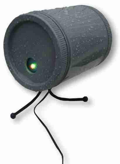caisson semi �tanche pour laser � placer en ext�rieur ( trous fil et tr�pied )