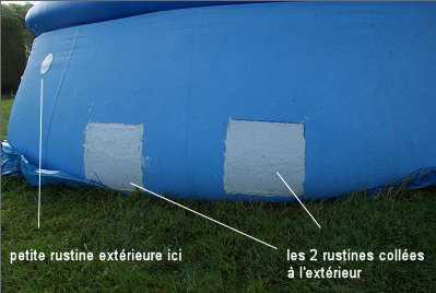Comment r parer une coupure sur piscine autoportante - Reparation liner piscine hors sol ...