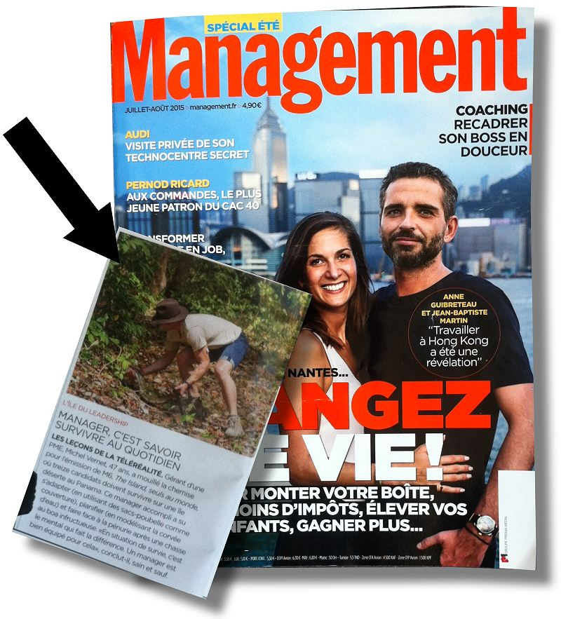 michel vernet dans MANAGEMENT magazine