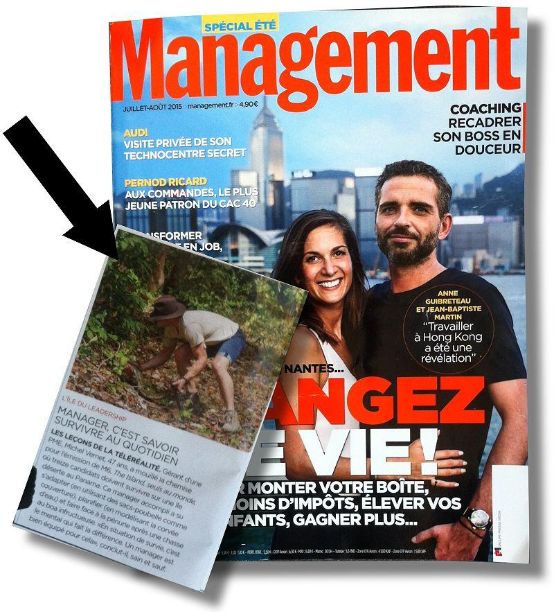 michel vernet dans MANAGEMENT magazine