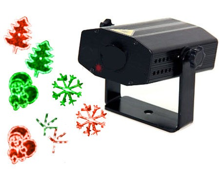 Projecteur mini laser images d coration de no l 2014 sur for Projecteur exterieur noel