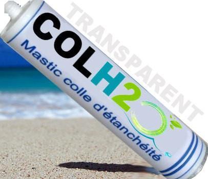 colle étanche directement sous l'eau COLH2O transparent