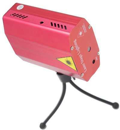 Laser avec trépied sur le côté