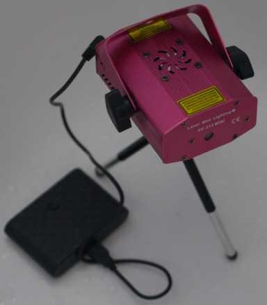 Laser avec batterie