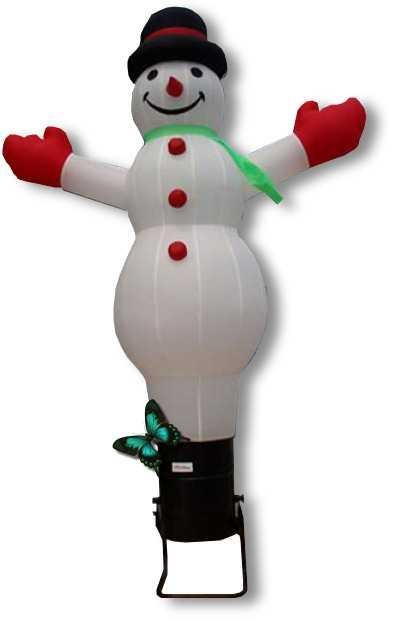 bonhomme de neige gonflable géant 4 mètres