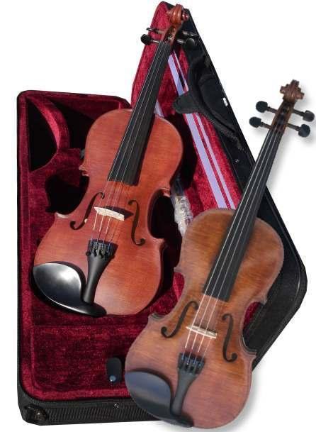 excellent violon d'étude Rigozetti teinté en france