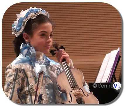 violon sylvicole brut ALice, teinté violet