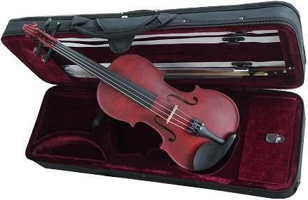 violon 4/4 rouge
