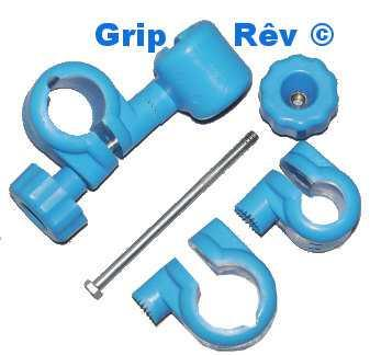 grip rev systeme d'attache de tubes