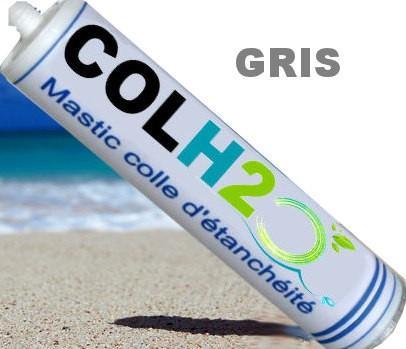 colle ms polymère sous l'eau colh2o gris