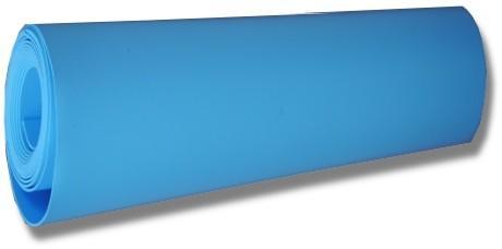 Rustine de liner bleu fonc sur mesure pour colmater une for Rustine liner