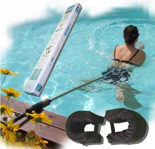 Perche de nage sur place tenrev avec ceinture et flotteurs
