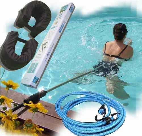 Perche de nage sur place statique ceinture canne élastique flotteurs d2e8b1cc32e