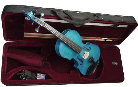 violon bleu 4/4