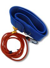 élastique de nage tendeur avec ceinture néoprène