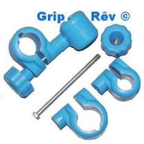 grip rev systeme d'attache tube