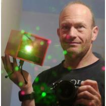 Laser de Noël sans fil
