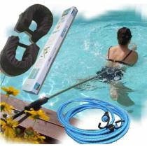 Perche de nage ceinture flotteurs et tendeur