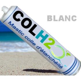 COLH2O blanc colle à carreaux de piscine
