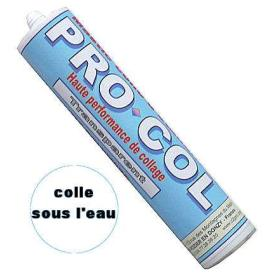 PROCOL TRANSPARENT colle mastic piscine