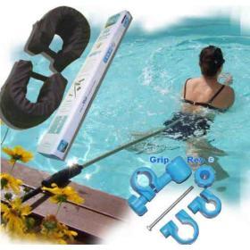 Appareil de natation avec attache extérieure