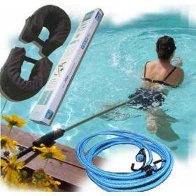 Perche de nage + élastique