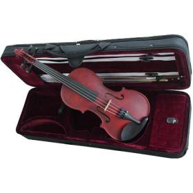 Violon adulte 4/4 ROUGE étui + colophane & archet
