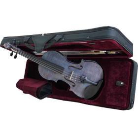 Violon violet 4/4 + archet en étui pro