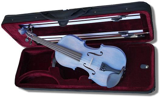 violon 1/4 bleu