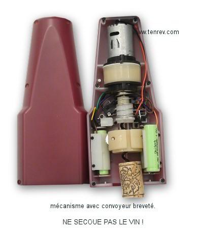 tire bouchon electrique mesguich pro caviste oenologue. Black Bedroom Furniture Sets. Home Design Ideas