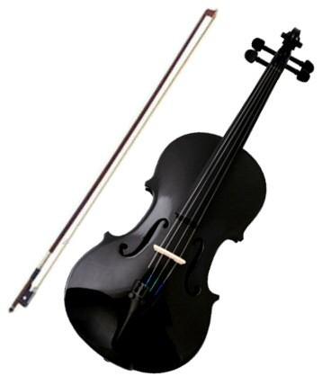 violon noir pour enfant 8 ou 9 ans b ne cordes de qualit. Black Bedroom Furniture Sets. Home Design Ideas